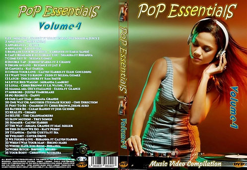 Pop Essentials Music Video Compilation DVD Volume4