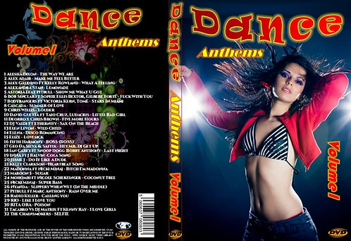 Dance Anthems Clubdance Music Video DVD Volume1