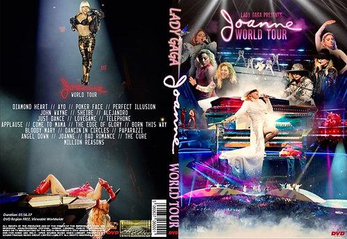 Lady Gaga The Joanne World Tour DVD