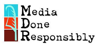 Media Done Responsibly (MDR) Logo