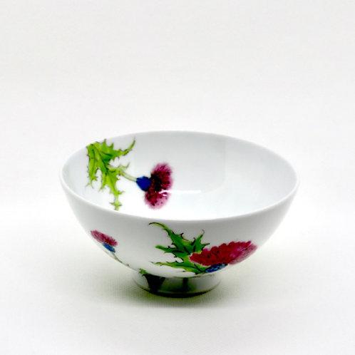 ご飯茶碗「アザミ」