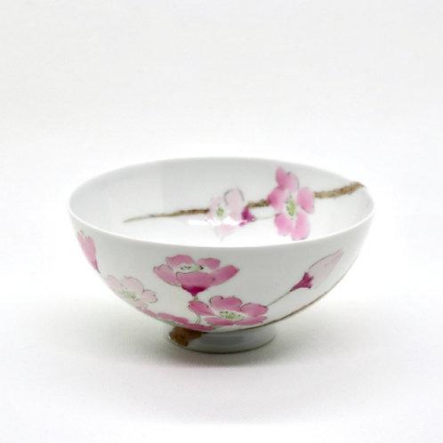 ご飯茶碗「枝桜」