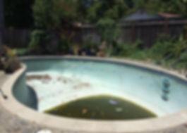 swimming pool removal, pool removal, san jose pool removal