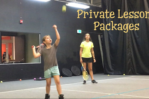 Black Friday 20-Private Lesson Package