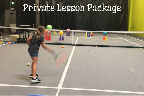 5 Private Lesson - TEAM TENNIS only