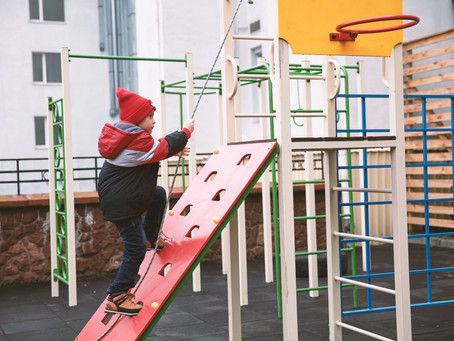 How Children Get Fit at the Playgrounds