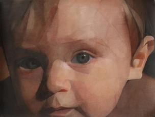 Victor,  pastel sec sur toile, 150x 115 cm, 2012