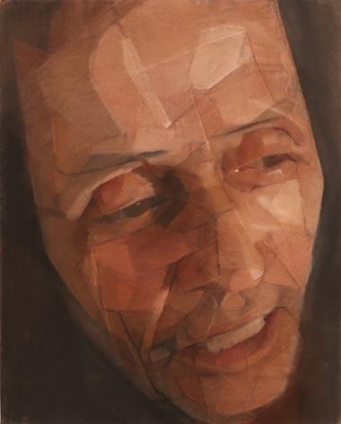 Christian, pastel sec sur toile, 95 x 117 cm, 2008