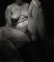 Autoportrait, pastel sur papier, 75 x 65 cm, 1997