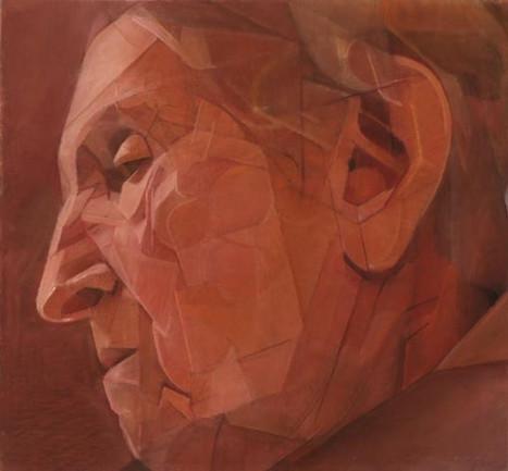 Mane 10, pastel sec sur toile, 120 x 127 cm, 2008