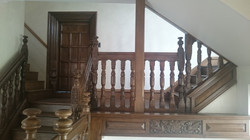 Renovation of Elizabethan staircase