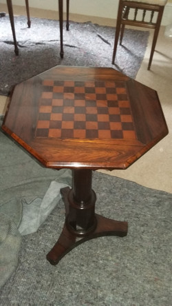Refinished Games Table