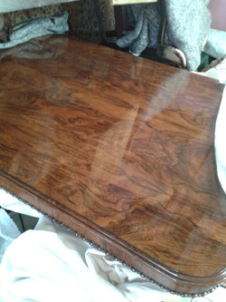 French Polished Table Top