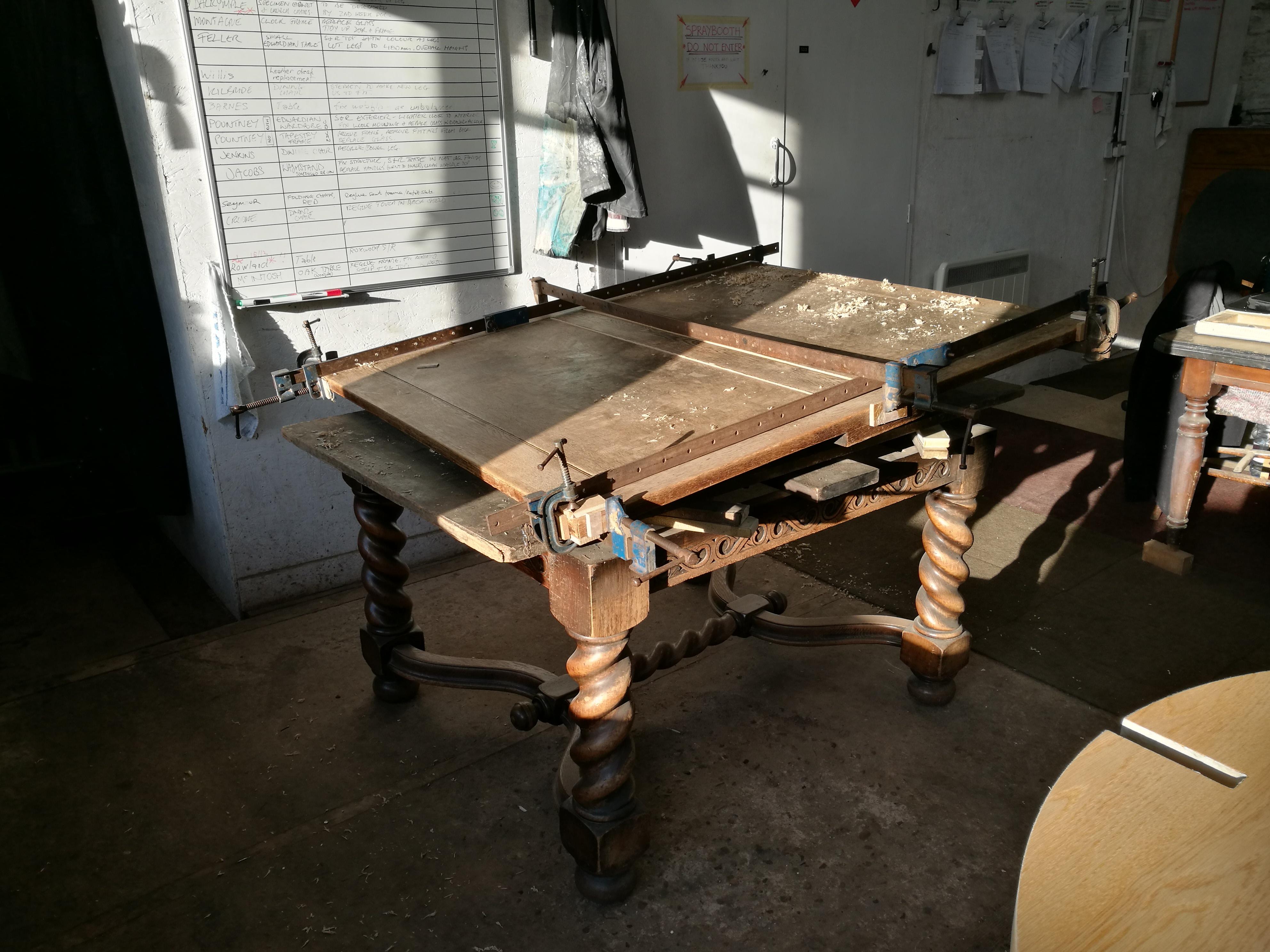 Oak Table repair