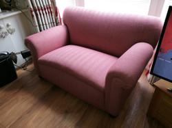 Drop Arm Sofa reupholstery