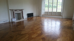 Finished new oak floor