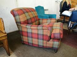 Tartan Check Armchair