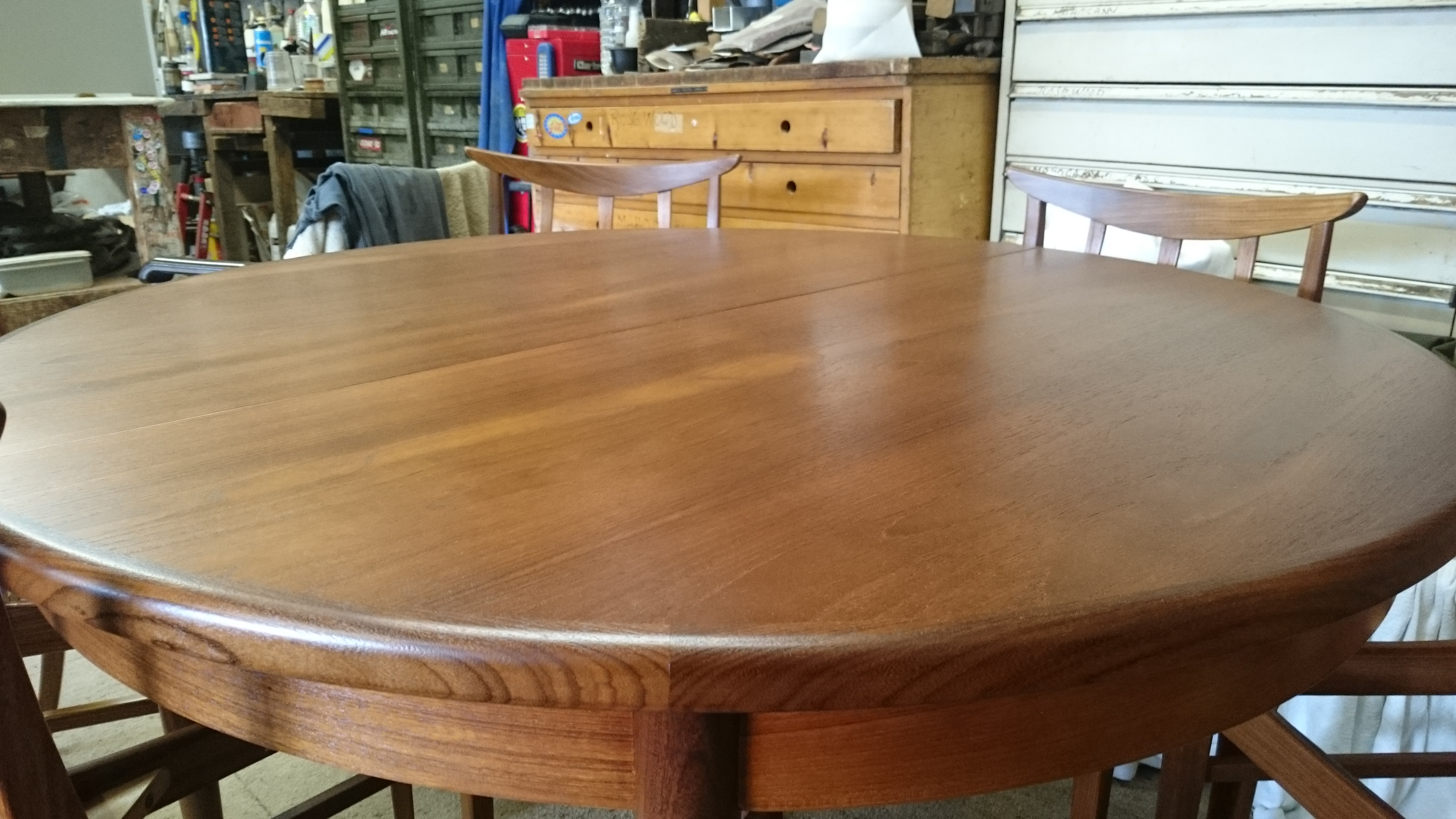 Refinished G Plan Table