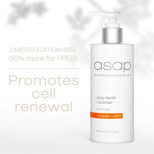 Daily Facial Cleanser  Limited Edition 300ml