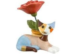 Delia con rose
