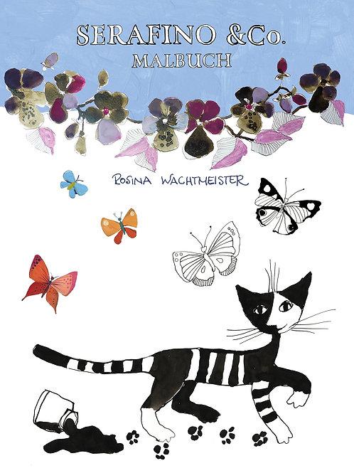 Serafino - Colouring Book / Malbuch Rosina Wachtmeister