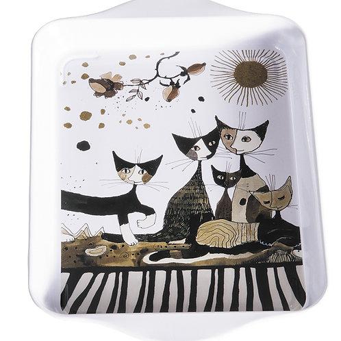 Cat's Seppia - vassoio piccolo Rosina Wachtmeister Fridolin
