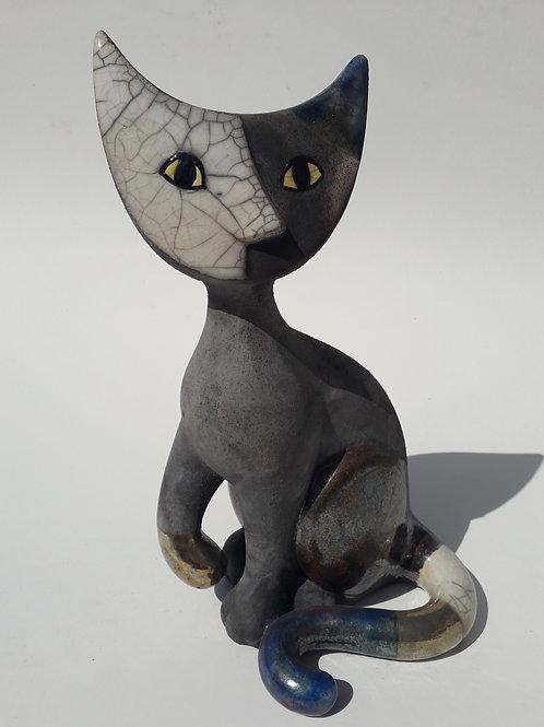 Pepe Cat - Raku Ceramic Wachtmeister Lab