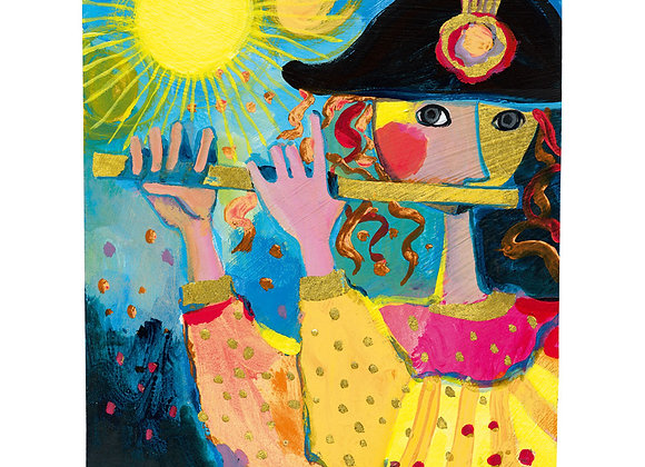 The flute player - puzzle Rosina Wachtmeister