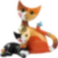 Rosina Wachtmeister Liana e Manfredo gatto anno 2012.jpg