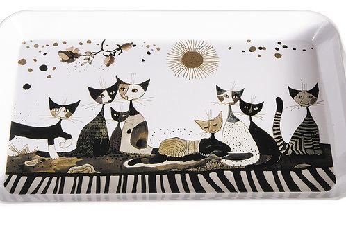 Cat's Seppia - vassoio Rosina Wachtmeister Fridolin