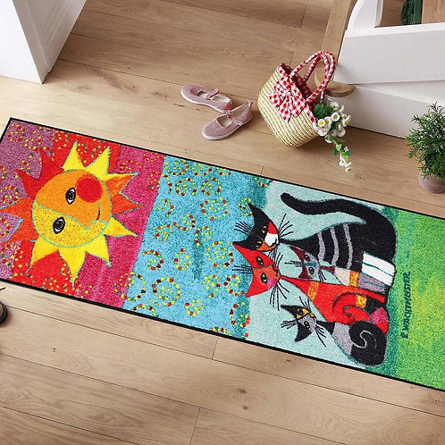 Momenti di felicità (190x75cm) - tappeto/zerbino Rosina Wachtmeister