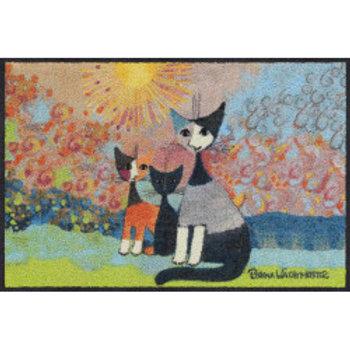 Con nonna (50x75cm) - tappeto/zerbino Rosina Wachtmeister
