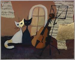 Gatti con violoncello