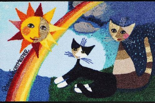 I colori dell'arcobaleno (50x75cm) - tappeto/zerbino Rosina Wachtmeister
