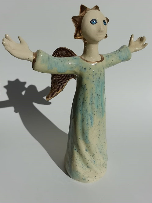 Archangel Michael, Ceramic Wachtmeister Lab