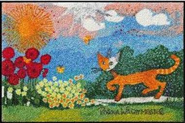 Daisies (120x75cm) - tappeto/zerbino Rosina Wachtmeister