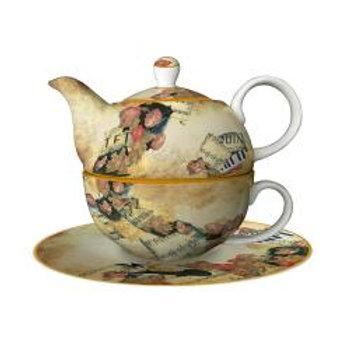 Musica romantica Tea for one - Teiera con tazza Rosina Wachtmeister