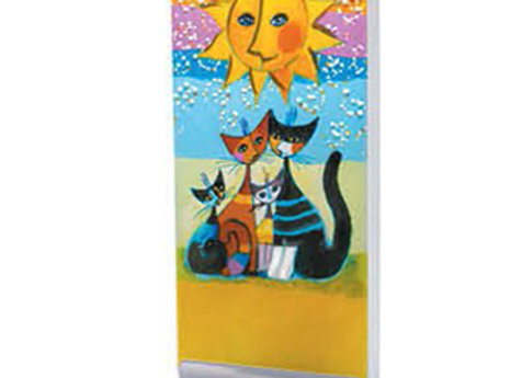 "Candela ""Cats family under the Sun"" Rosina Wachtmeister"