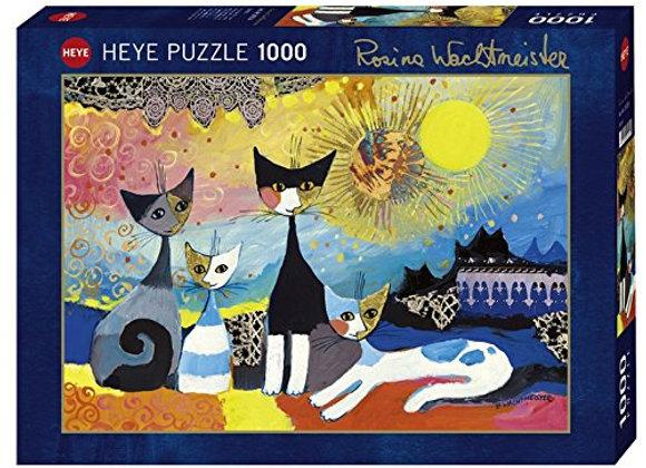 Laces - puzzle Rosina Wachtmeister