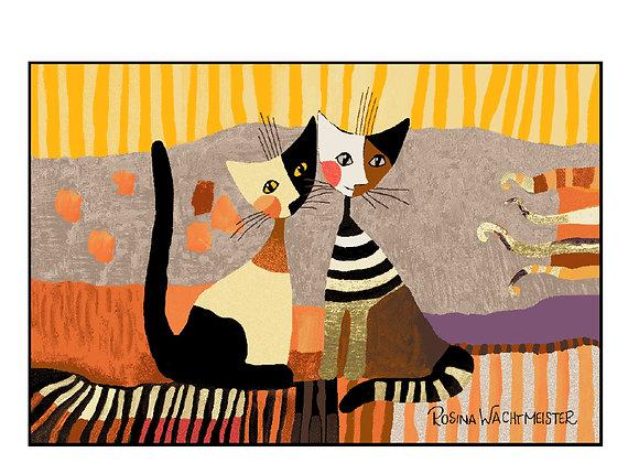 Golden Times (120x75cm) - tappeto/zerbino Rosina Wachtmeister