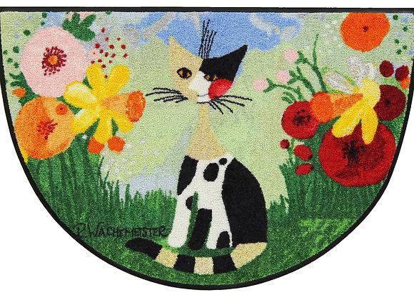 Annette (60x85cm) - tappeto/zerbino semicircolare Rosina Wachtmeister