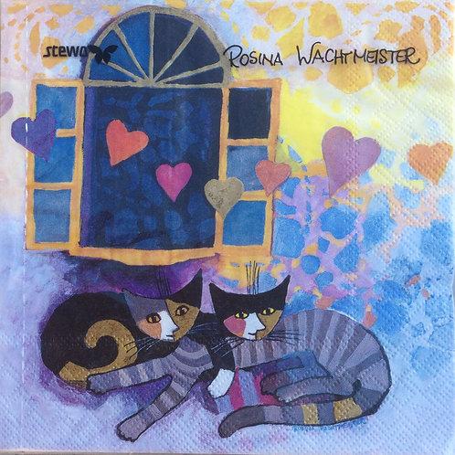 Flying hearts - tovaglioli Rosina Wachtmeister