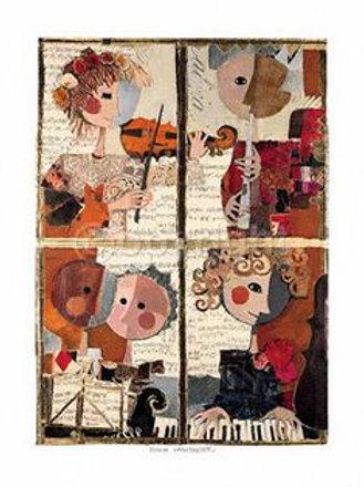 Quintett ( 60 x 80 cm )