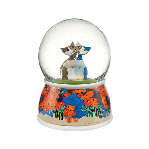 Papavera - Grande sfera di vetro Rosina Wachtmeister Goebel