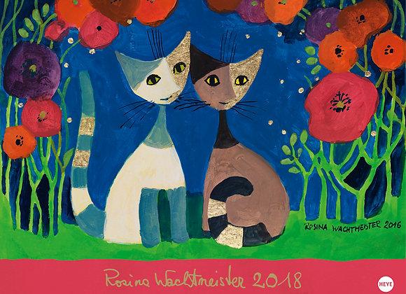 Rosina Wachtmeister Calendario orizzontale 2018