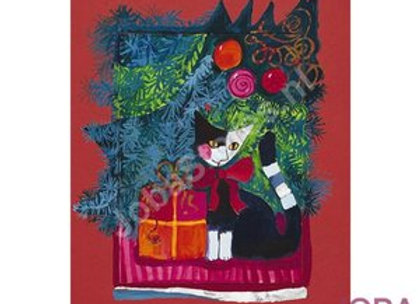 Christmas red - Diamond painting Rosina Wachtmeister