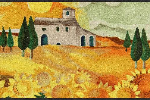 Girasole (180x60cm) - tappeto/zerbino Gabila