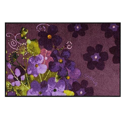 Maggio viola (50x75cm) - tappeto/zerbino Gabila