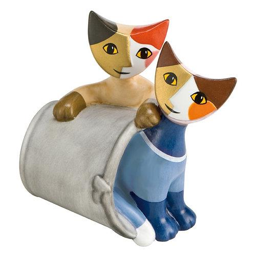 Nascondino gatti in porcellana