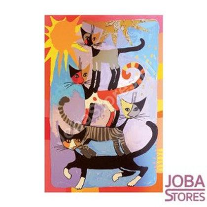 Cat tower - Diamond painting Rosina Wachtmeister